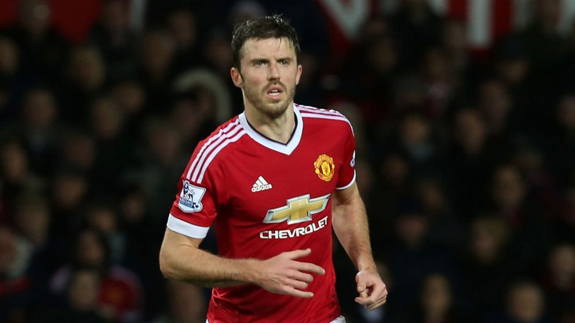 MANCHESTER, ENGLAND - DECEMBER 19: Michael Carrick of Manchester United in action during the Barclays Premier League match between Manchester United and Norwich City at Old Trafford on December 19, 2015 in Manchester, England. (Photo by Matthew Peters/Man Utd via Getty Images)
