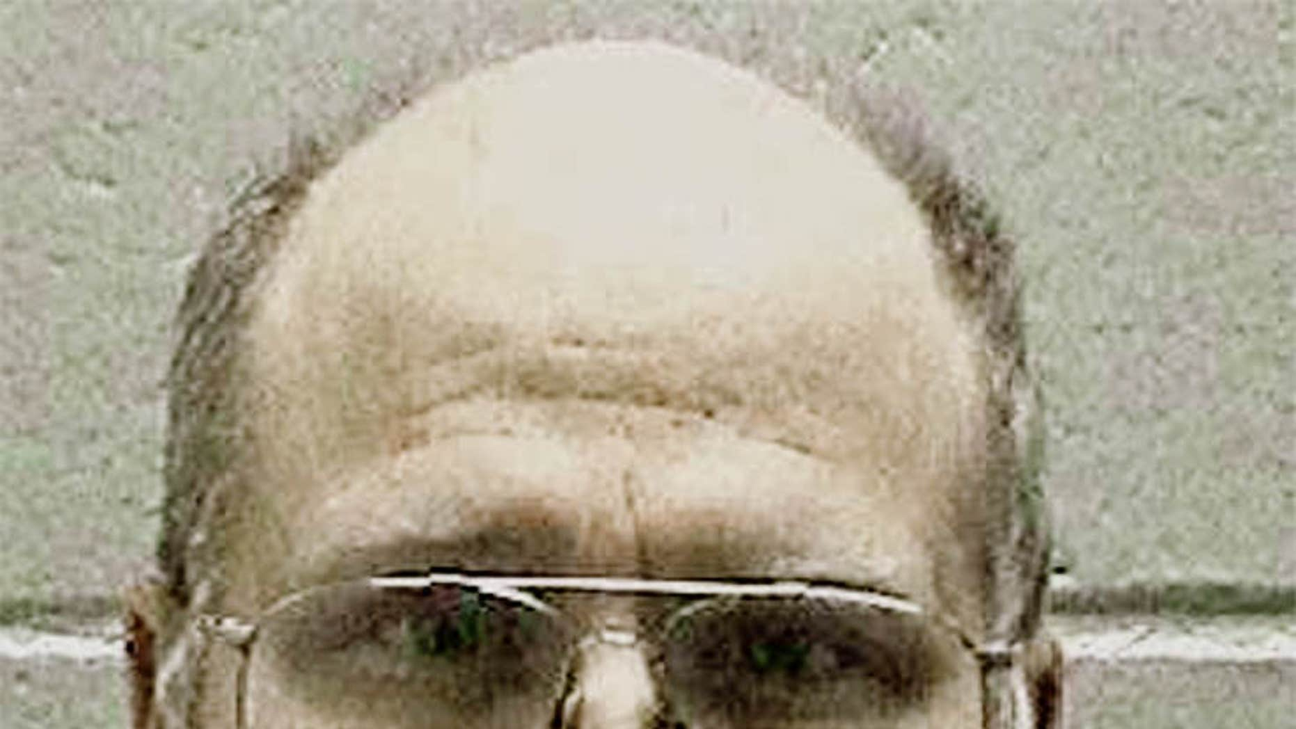 FILE -In this undated file photo released by the Georgia Department of Corrections shows death row inmate and former U.S. Navy sailor Travis Hittson in Georgia. Hittson, 45, is to scheduled be put to death Wednesday evening, Feb. 17, 2016.