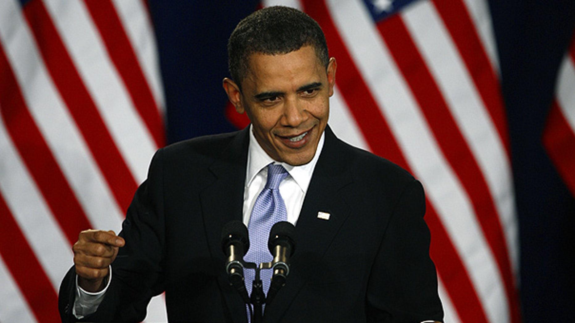 Feb. 18: President Obama speaks at a fundraiser for Sen. Michael Bennet in Denver.