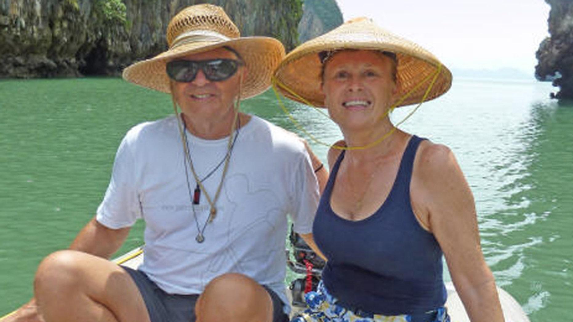 Undated photo shows Scott and Jean Adam.