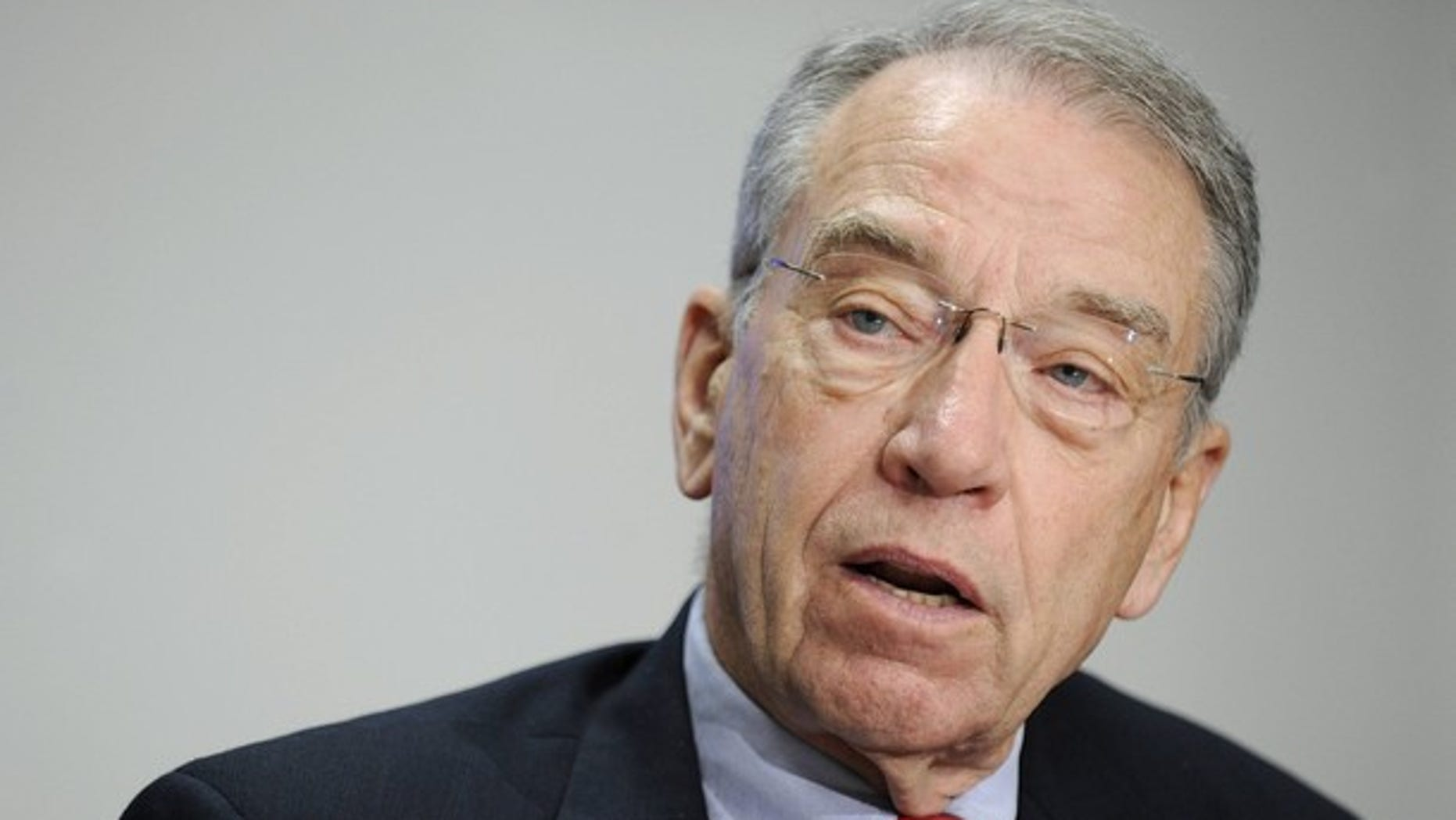 Sen. Charles Grassley answers questions during the 2009 Reuters Washington Summit in Washington Oct. 19, 2009.