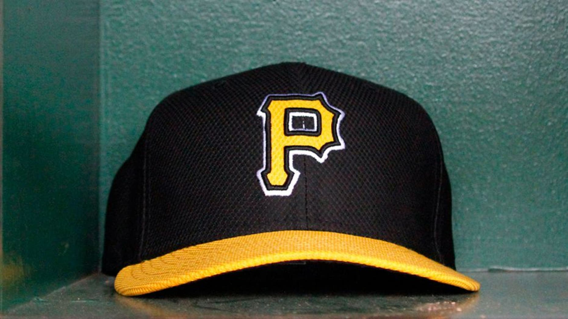 PITTSBURGH, PA - APRIL 18: A detailed view of a hat before the game between the Pittsburgh Pirates and the Atlanta Braves on April 18, 2013 at PNC Park in Pittsburgh, Pennsylvania. (Photo by Justin K. Aller/Getty Images)