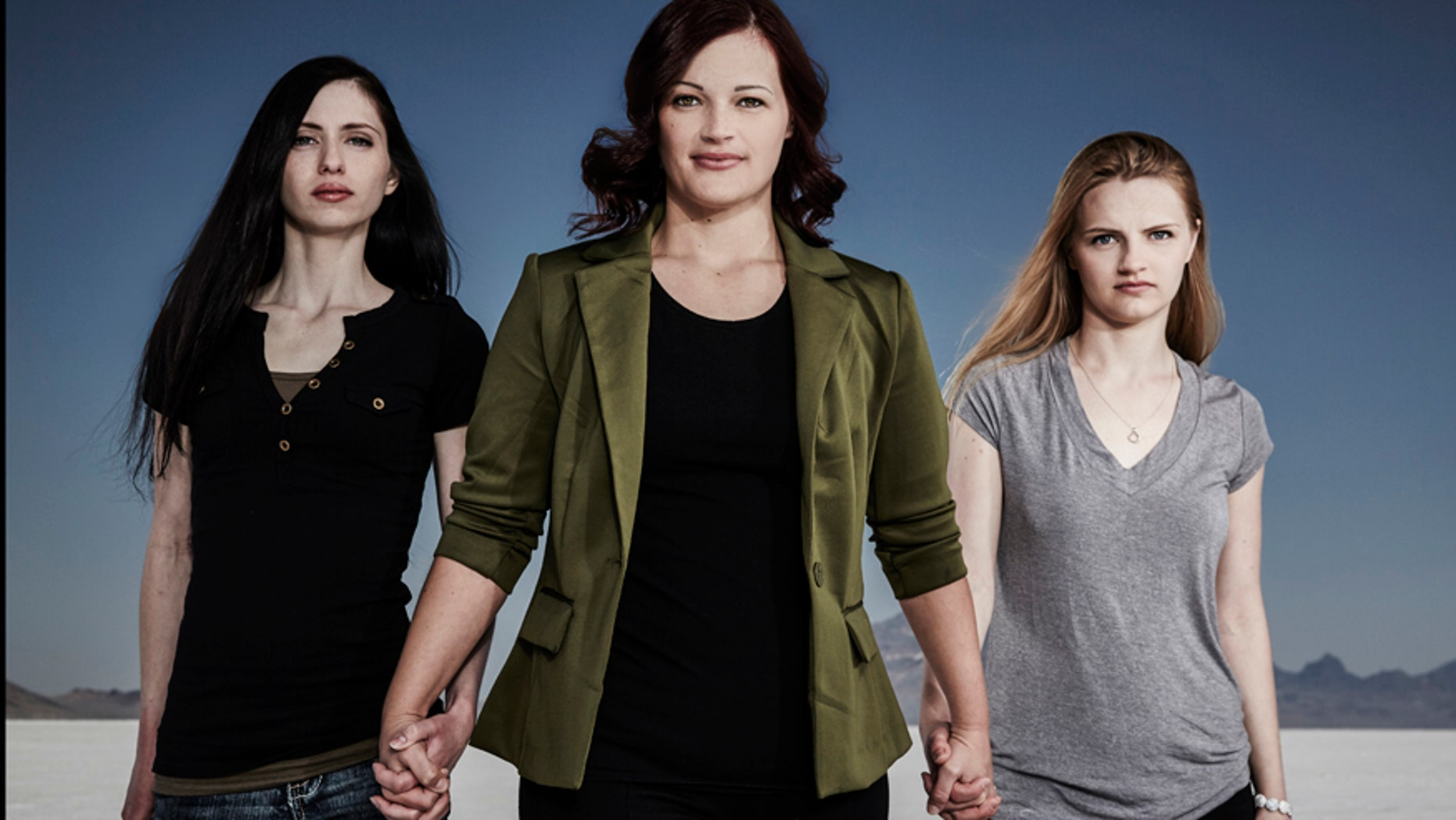 """Shanell, Jessica and Andrea from LMN's """"Escaping Polygamy"""""""