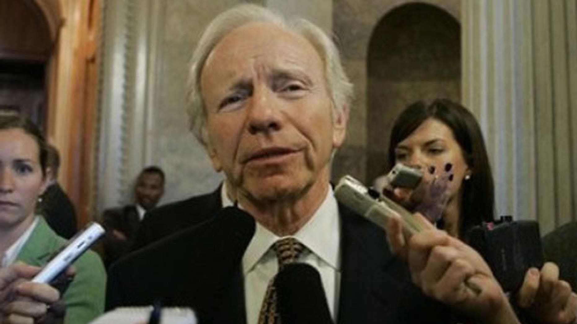 Connecticut Sen. Joe Lieberman