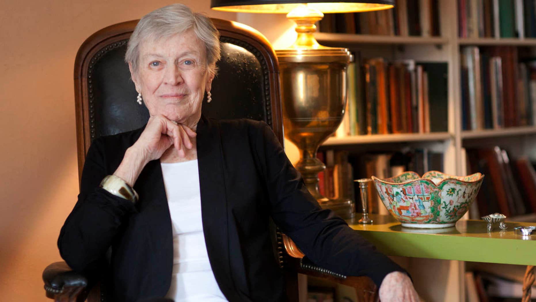 FILE - In this March 24, 2011 photo, author Paula Fox poses for a portrait in New York.