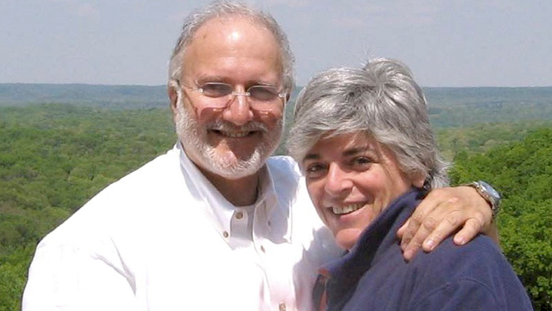 This file handout photo provided by the Gross family shows Alan and Judy Gross.