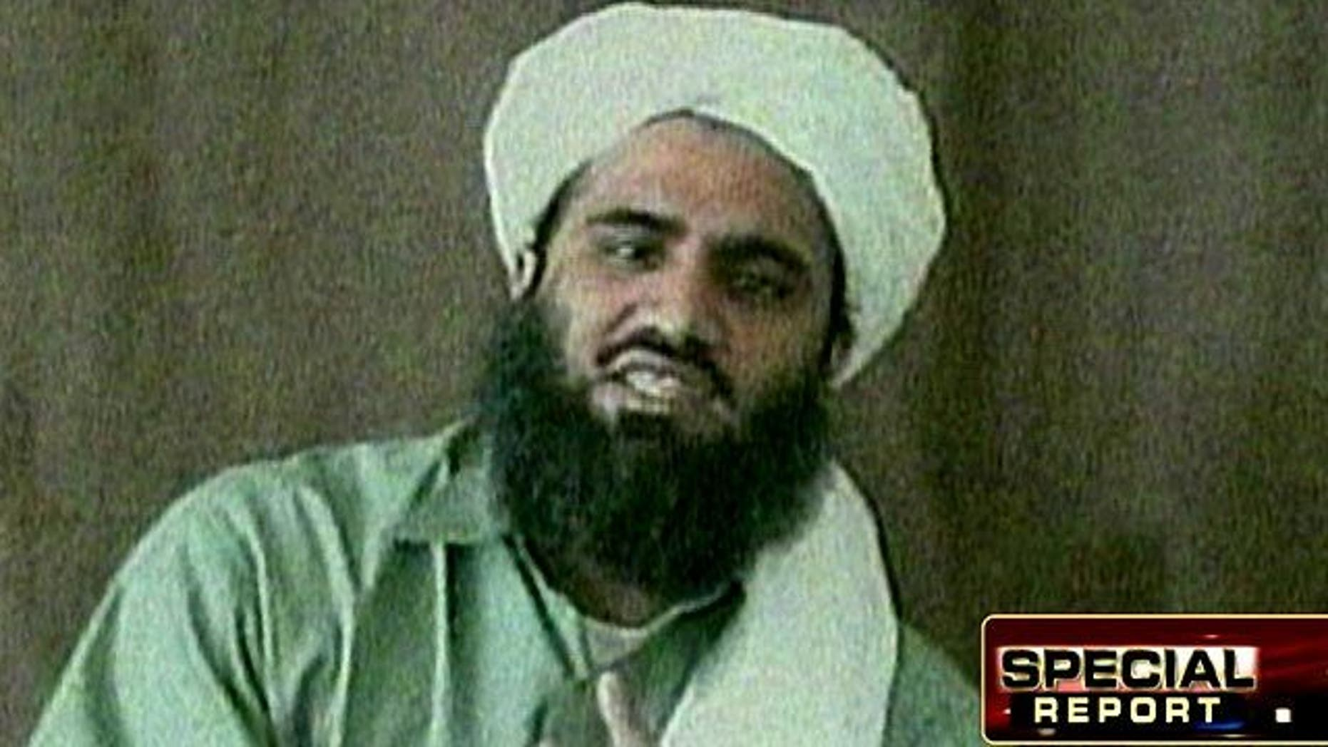 Sulaiman Abu Ghaith, Osama bin Laden's son-in-law and reported longtime member of Al Qaeda.