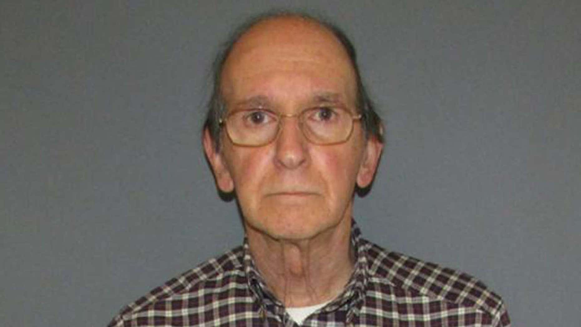 Carl Puia, 74, is accused of destroying several Kim Kardashian selfie books at a Conn. book store.