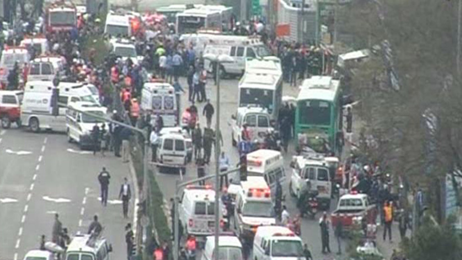 March 23: Two people are reportedly dead after a bus explodes in Jerusalem.