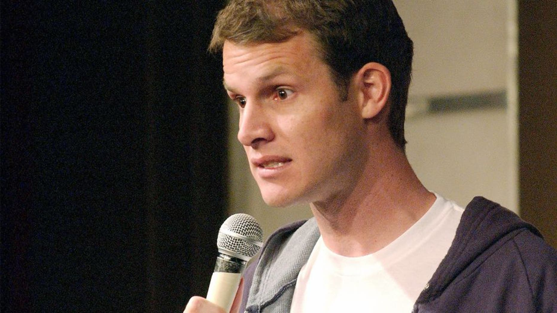 LOS ANGELES, CA - FEBRUARY 20: Daniel Tosh performs at the Hollywood Improv on February 20, 2008 in Los Angeles, CA. (Photo by Michael Schwartz/WireImage) *** Local Caption ***