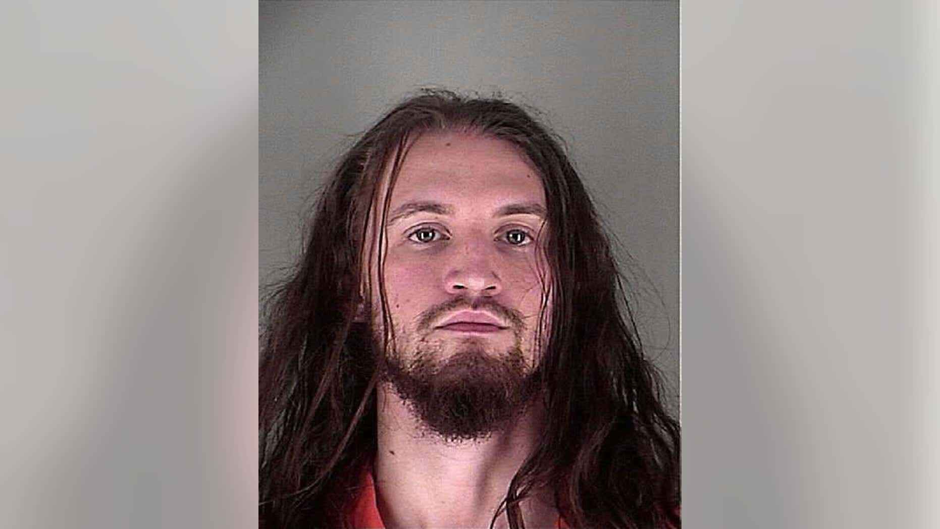 This 2016 photo provided by the Hennepin County Sheriff's Office, shows Abdul Raheem Habil Ali-Skelton, a Minnesota man accused of lying to the FBI about when he last contacted the Islamic State group.