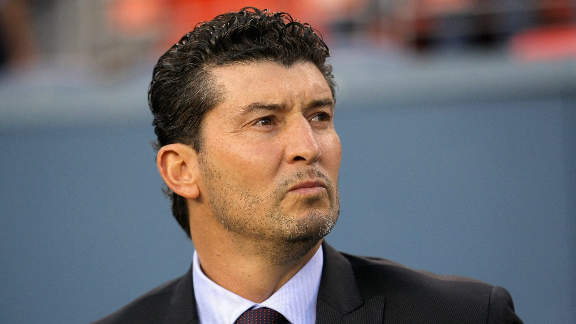 Mexican coach José Manuel De La Torre