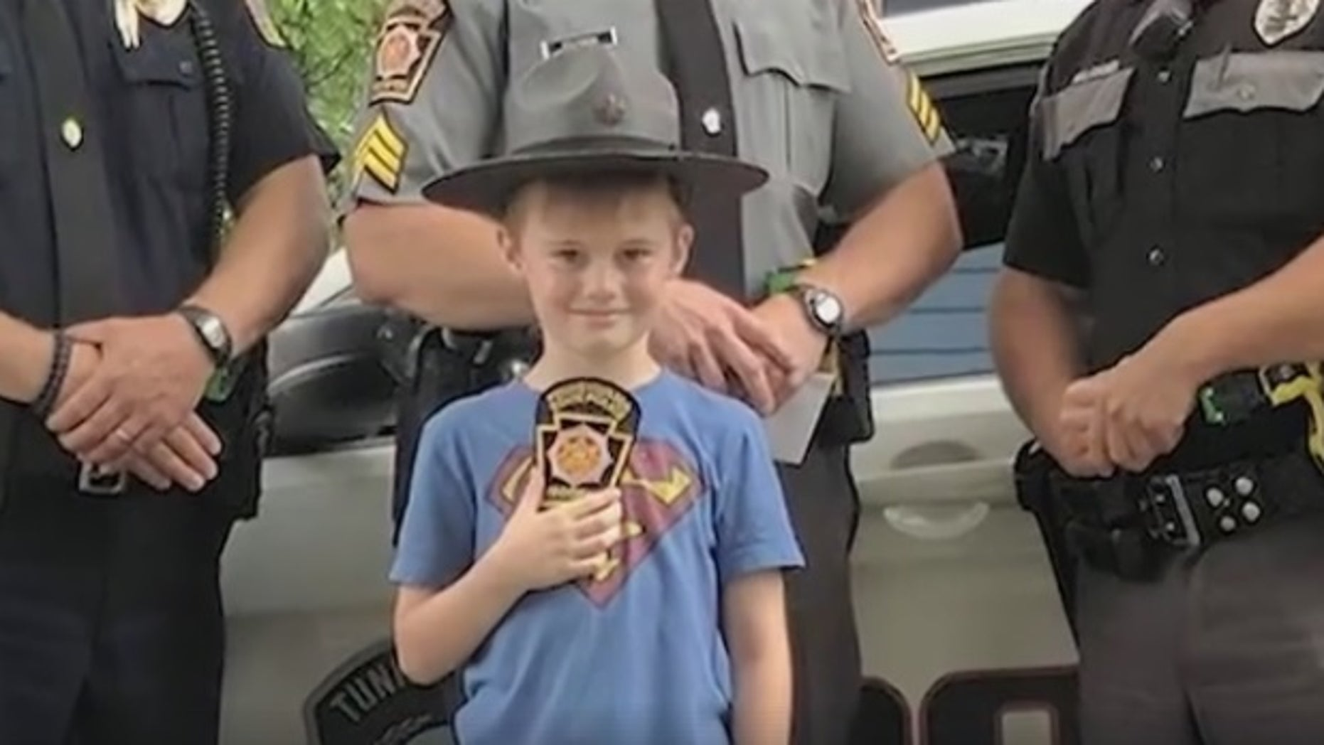 Owen with Pennsylvania State Police