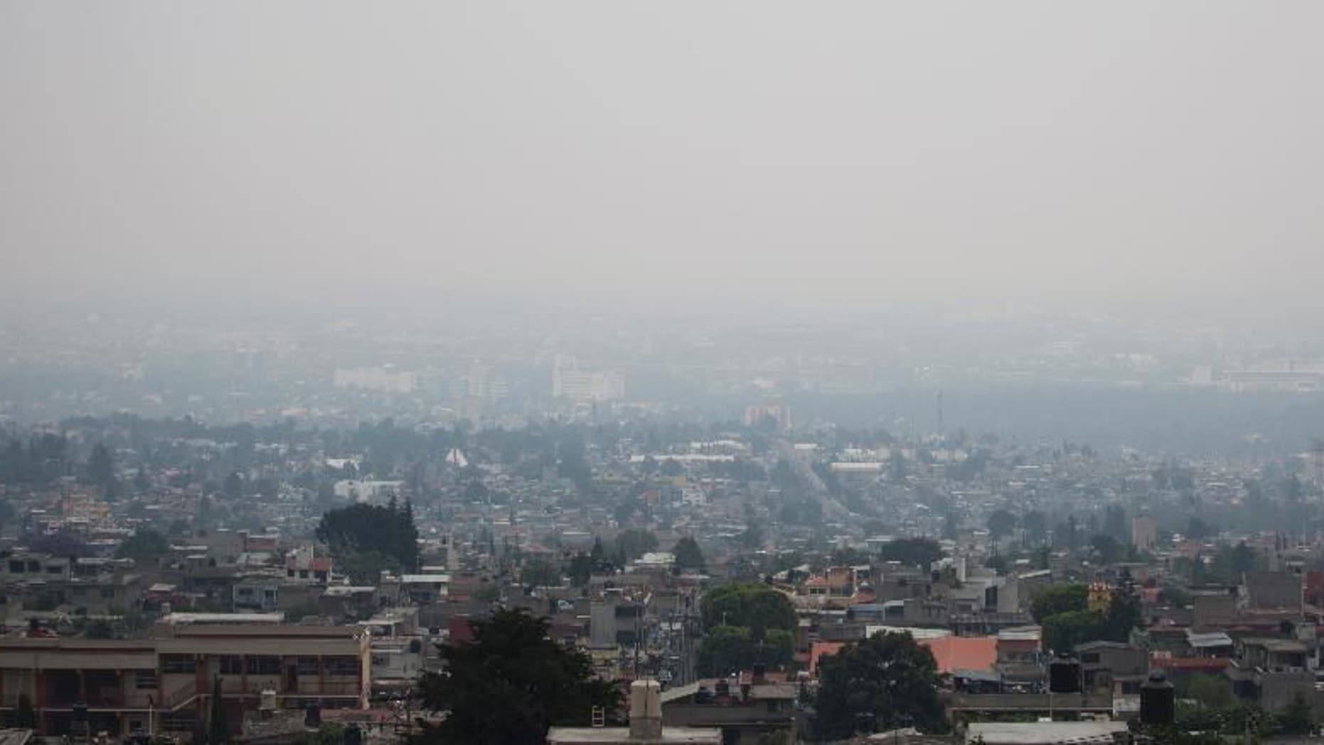 Air pollution has been linked to psychotic experiences in teenagers, according to a new study published on Wednesday. (AP Photo/Eduardo Verdugo)