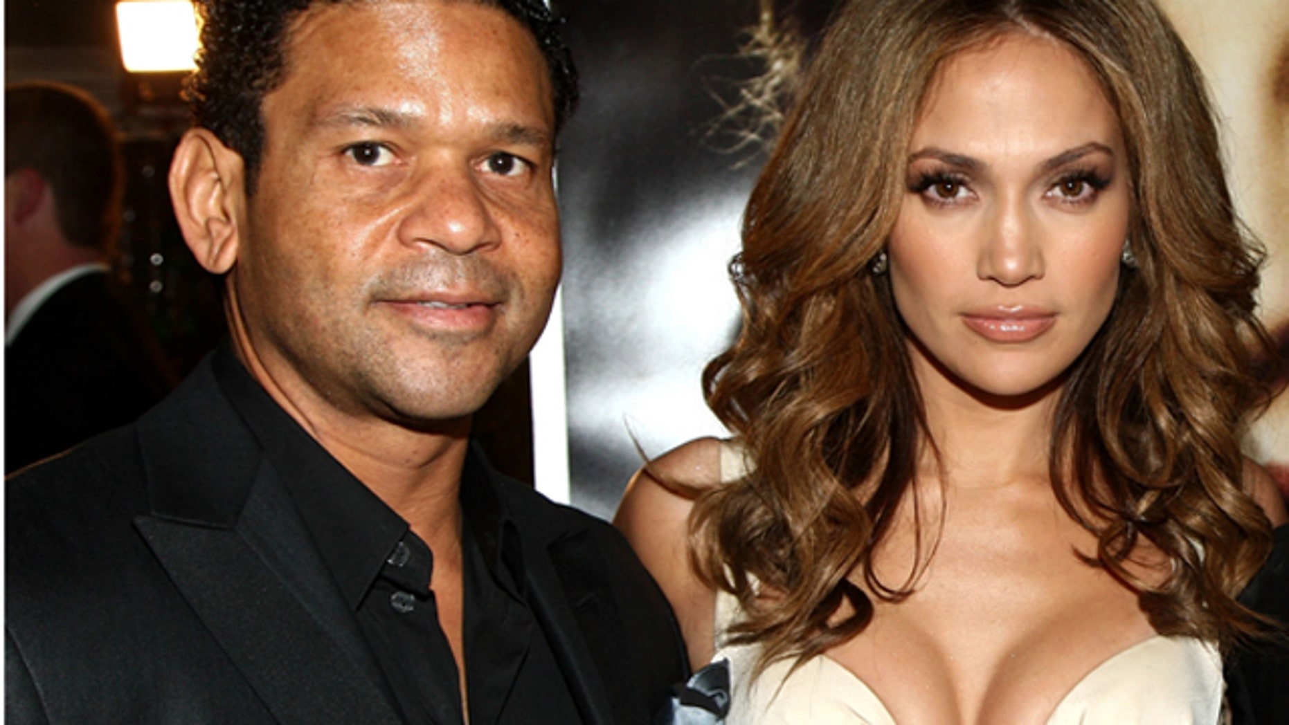 "WESTWOOD, CA - DECEMBER 08:  Celebrity agent Benny Medina, actress/singer Jennifer Lopez and CEO of Paramount Pictures Brad Grey arrive at the premiere of Paramount's ""The Curious Case Of Benjamin Button"" held at Mann's Village Theatre on Decemeber 8, 2008 in Westwood, California.  (Photo by Alberto E. Rodriguez/Getty Images)"