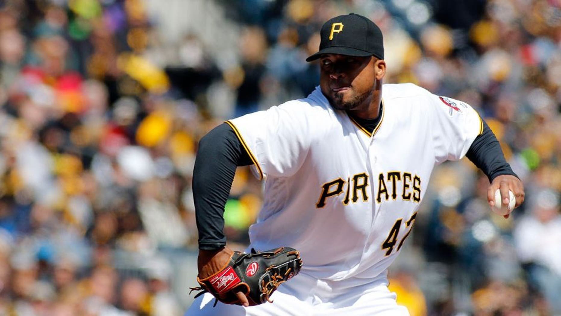 PITTSBURGH, PA - APRIL 03: Francisco Liriano #47 of the Pittsburgh Pirates pitches during opening day against the St. Louis Cardinals at PNC Park on April 3, 2016 in Pittsburgh, Pennsylvania. (Photo by Justin K. Aller/Getty Images)