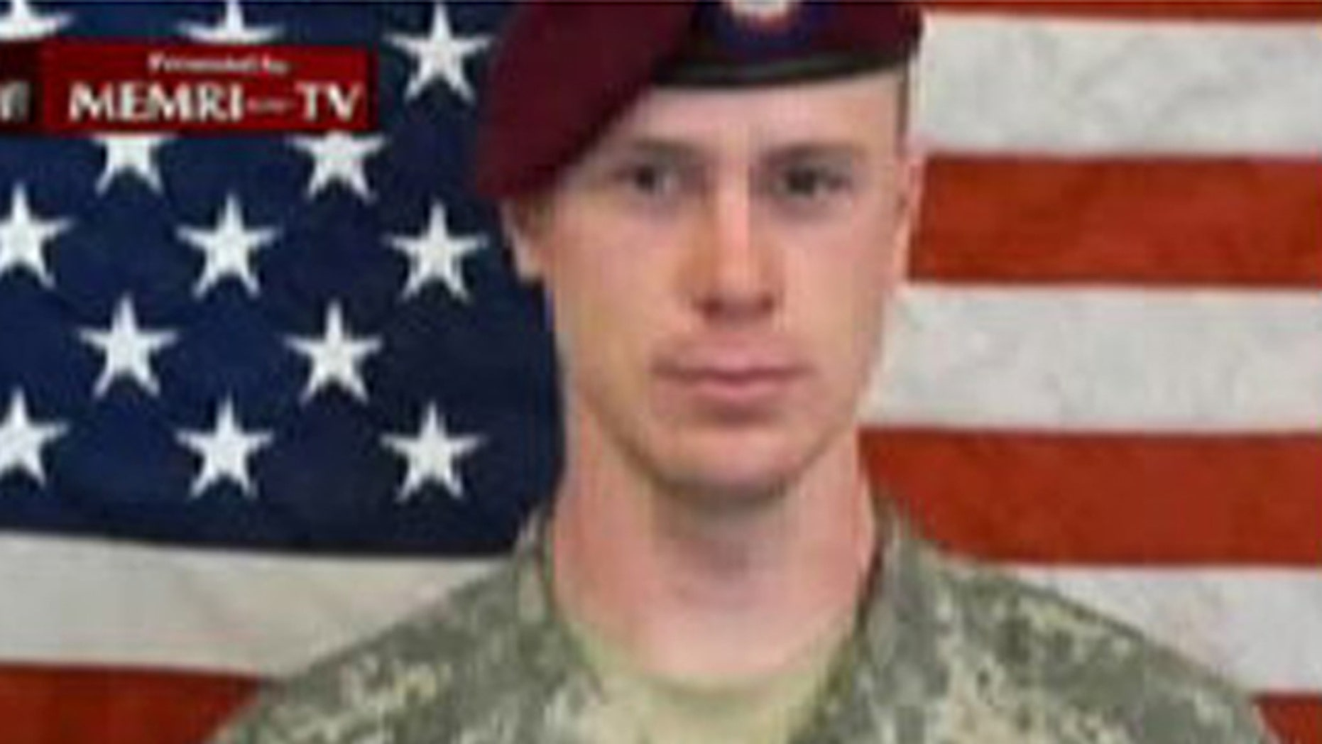 Pfc. Bowe Bergdahl is shown here in a Taliban-produced video.