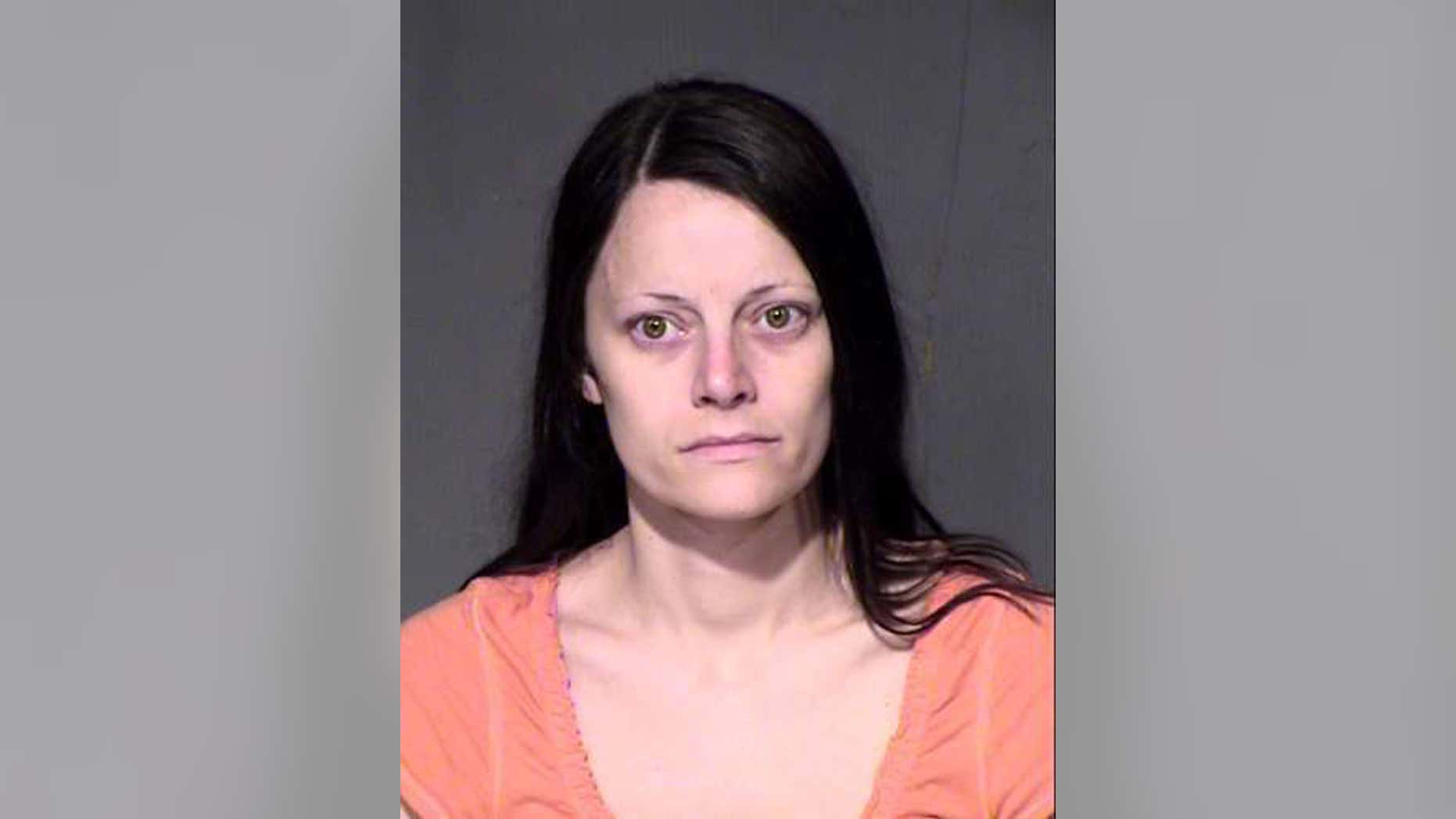 This undated photo provided by the Maricopa County Sheriff's Office shows Chalice Zeitner.