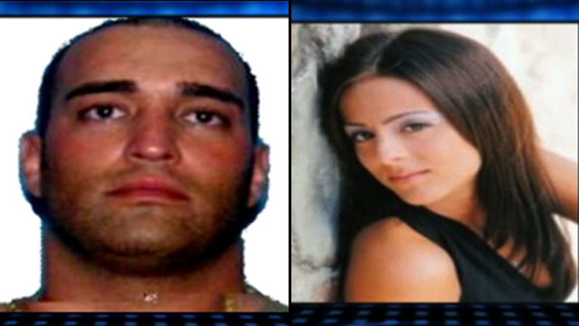 Millionaire murder suspect Peter Dabish and his alleged victim, 23-year-old Diana Demayo.