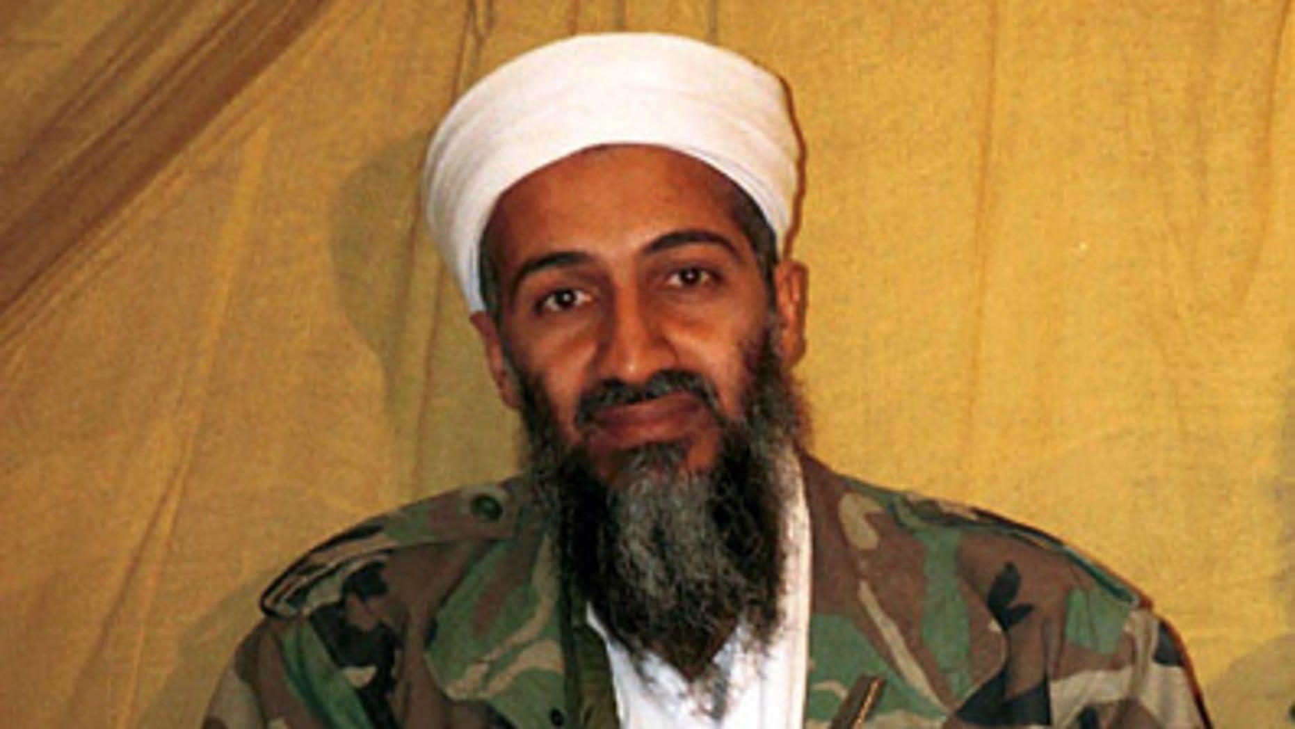 FILE: Undated: Al Qaeda leader Usama bin Laden, in Afghanistan, before being killed in May 2011 by U.S. forces.