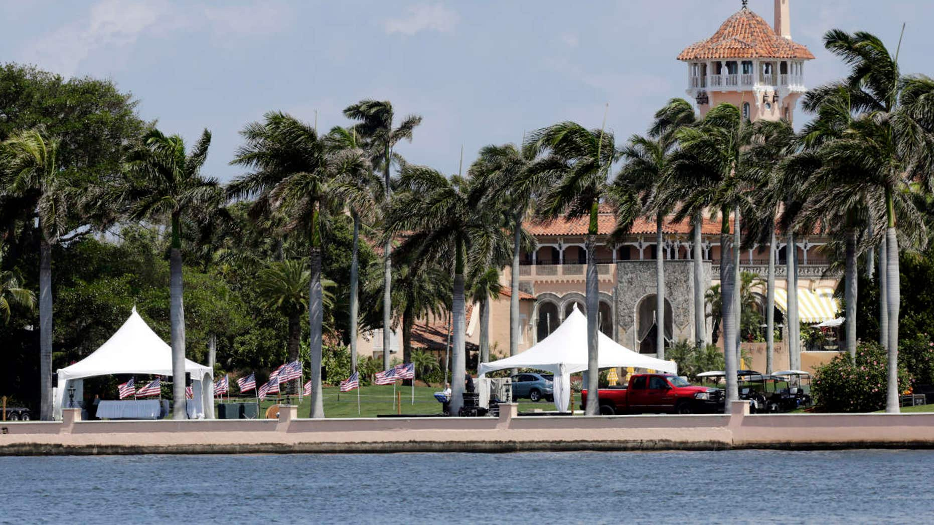 This Monday, April 3, 2017, file photo, shows the Mar-a-Lago resort in Palm Beach, Fla.