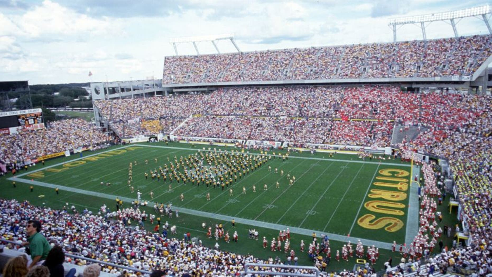 1 JAN 1991: A GENERAL VIEW OF THE CITRUS BOWL DURING THE GEORGIA TECH YELLOW JACKETS 45-21 VICTORY OVER THE NEBRASKA CORNHUSKERS IN THE 1991 FLORIDA CITRUS BOWL IN ORLANDO, FLORIDA. Mandatory Credit: Scott Halleran/ALLSPORT