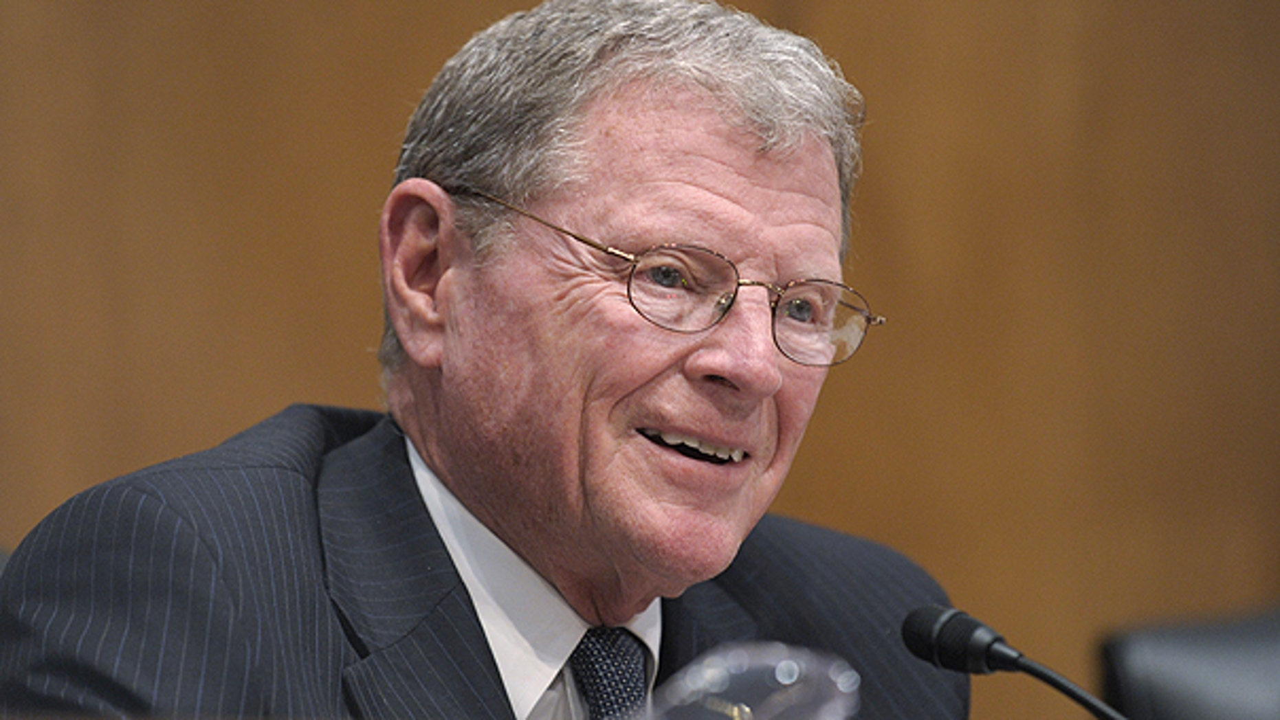 April 12: Sen. James Inhofe, R-Okla., ranking Republican on the Senate Environment and Public Works Committee, participates in the committee's hearing entitled, 'Review of the Nuclear Emergency in Japan and Implications for the U.S,' on Capitol Hill in Washington.