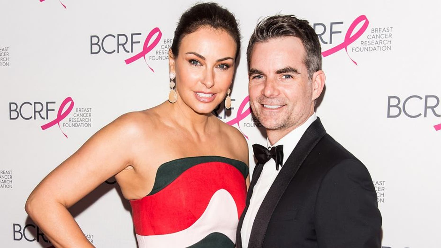 NEW YORK, NEW YORK - APRIL 12: Model Ingrid Vandebosch and Professional Race Car driver Jeff Gordon attend the 2016 Breast Cancer Research Foundation Hot Pink Party at The Waldorf=Astoria on April 12, 2016 in New York City. (Photo by Gilbert Carrasquillo/FilmMagic)