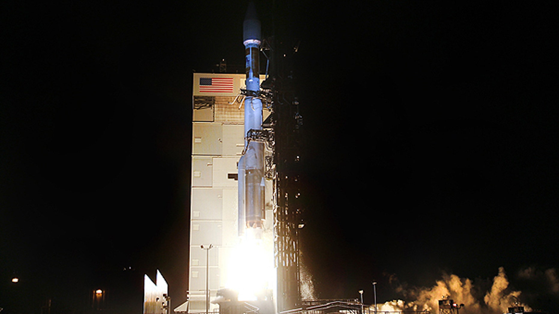 April 14: An Atlas 5 rocket blasts off at 9:24 p.m. (PDT) from Space Launch Complex-3 at Vandenberg Air Force Base to place a National Reconnaissance Office satellite into orbit.
