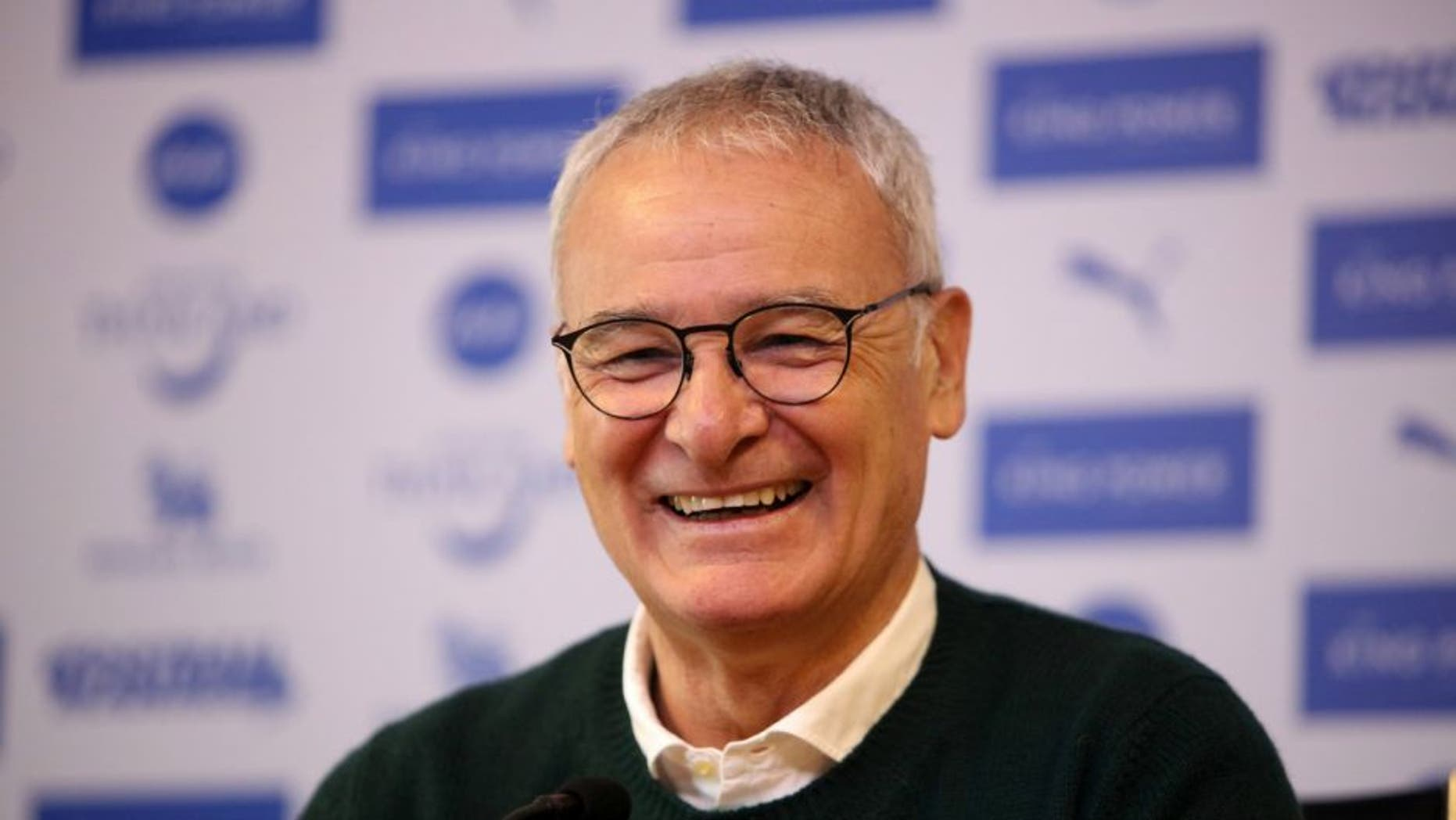 LEICESTER, ENGLAND - APRIL 15: Manager Claudio Ranieri during the Leicester City press conference King Power stadiumBelvoir Drive Training Complex on April 15 , 2016 in Leicester, United Kingdom. (Photo by Plumb Images/Leicester City FC via Getty Images)