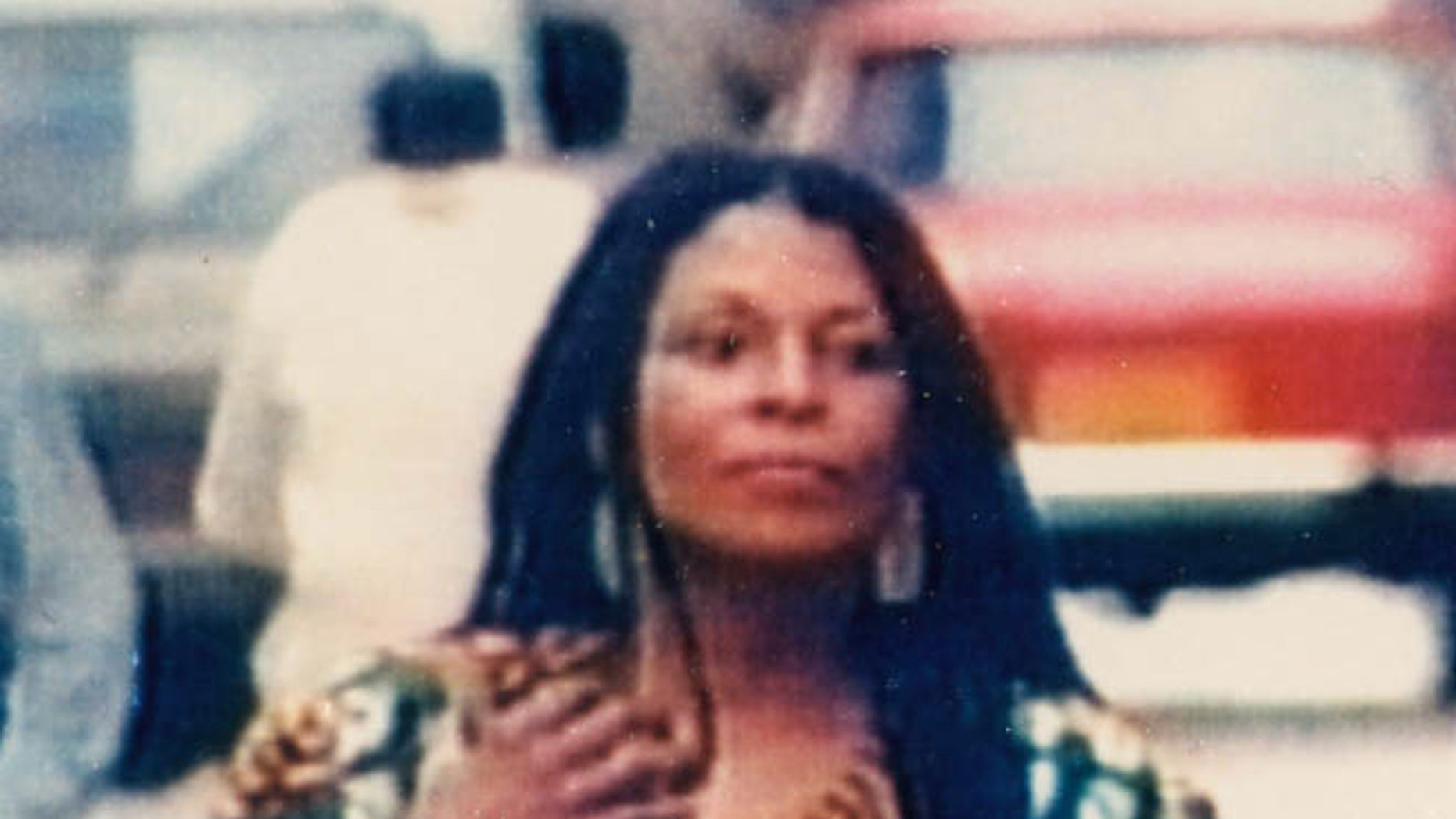 FILE - This is an undated file photo provided by the New Jersey State Police showing Assata Shakur - the former Joanne Chesimard - who was put on a U.S. government terrorist watch list on May 2, 2005. Shakur, 57, was convicted in 1973 of killing New Jersey State Trooper Werner Foerster as he lay on the ground. She escaped from prison in 1979 and fled to Cuba. The FBI is scheduled to make an announcement Thursday, May 2, 2013 regarding Joanne Chesimard, who killed a New Jersey state trooper on this date 40 years ago. (AP Photo/New Jersey State Police, File)
