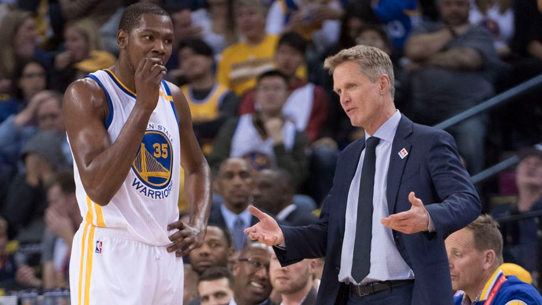 8b1843b7cb1f Warriors rule out Kevin Durant and Steve Kerr for Game 3 vs. Blazers ...