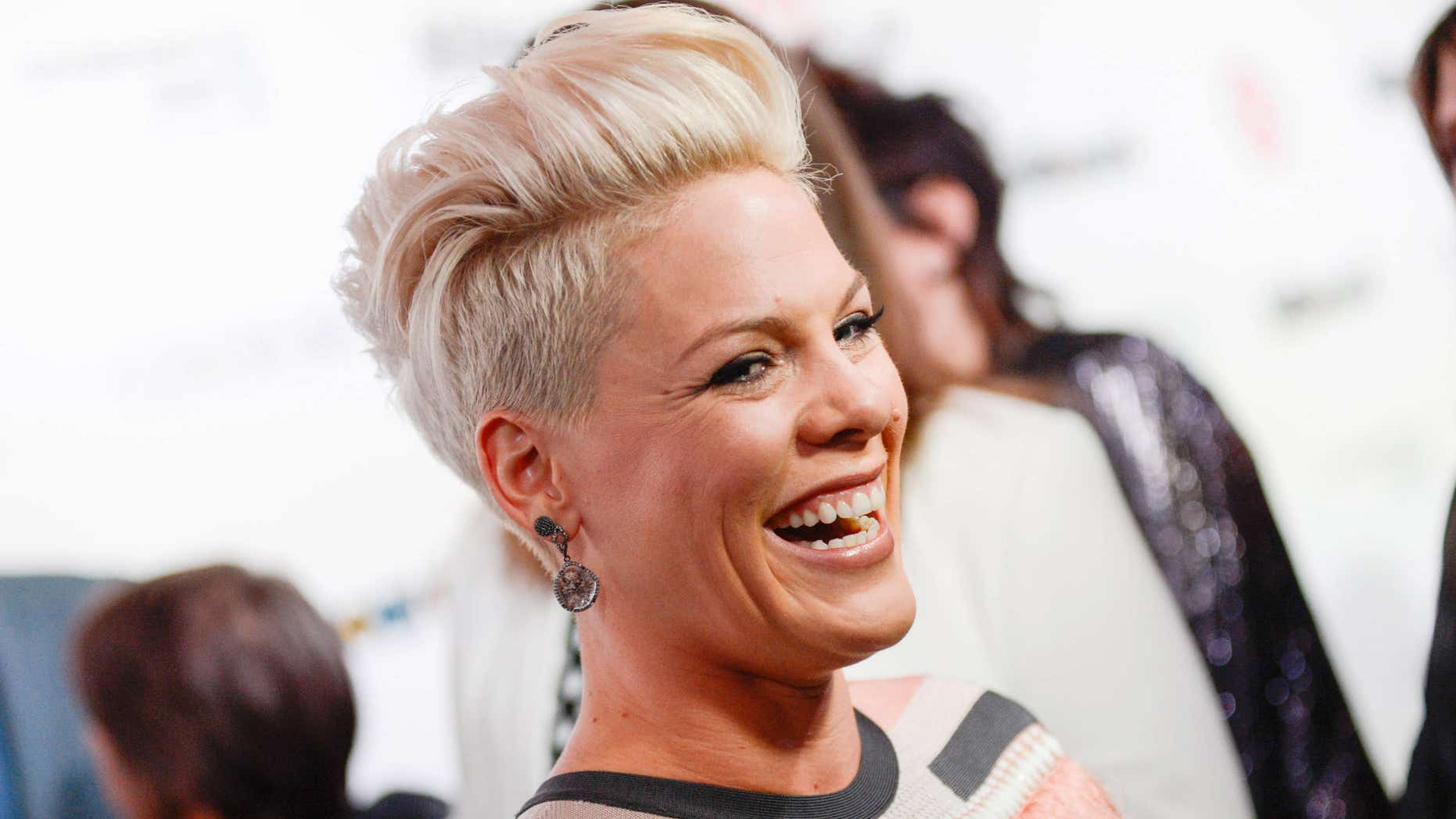 Dec. 10, 2013: Singer Pink arrives at the Billboard Women In Music Awards in New York.