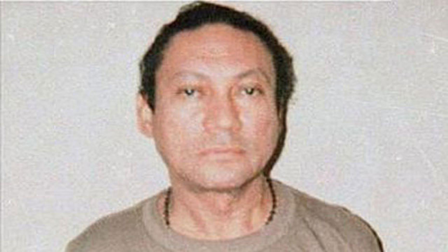 Former Panamanian dictator Manuel Noriega
