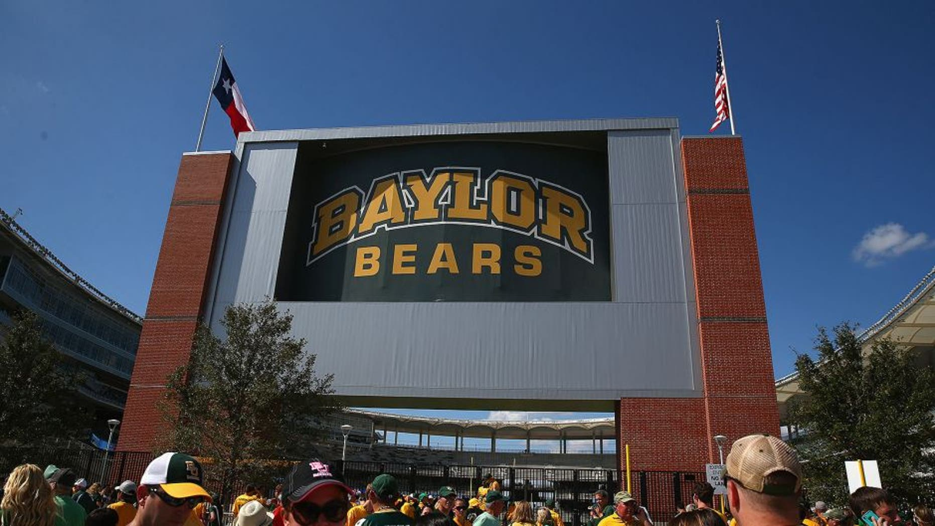WACO, TX - AUGUST 31: A general view of McLane Stadium before a game between the Southern Methodist Mustangs and the Baylor Bears on August 31, 2014 in Waco, Texas. (Photo by Ronald Martinez/Getty Images)