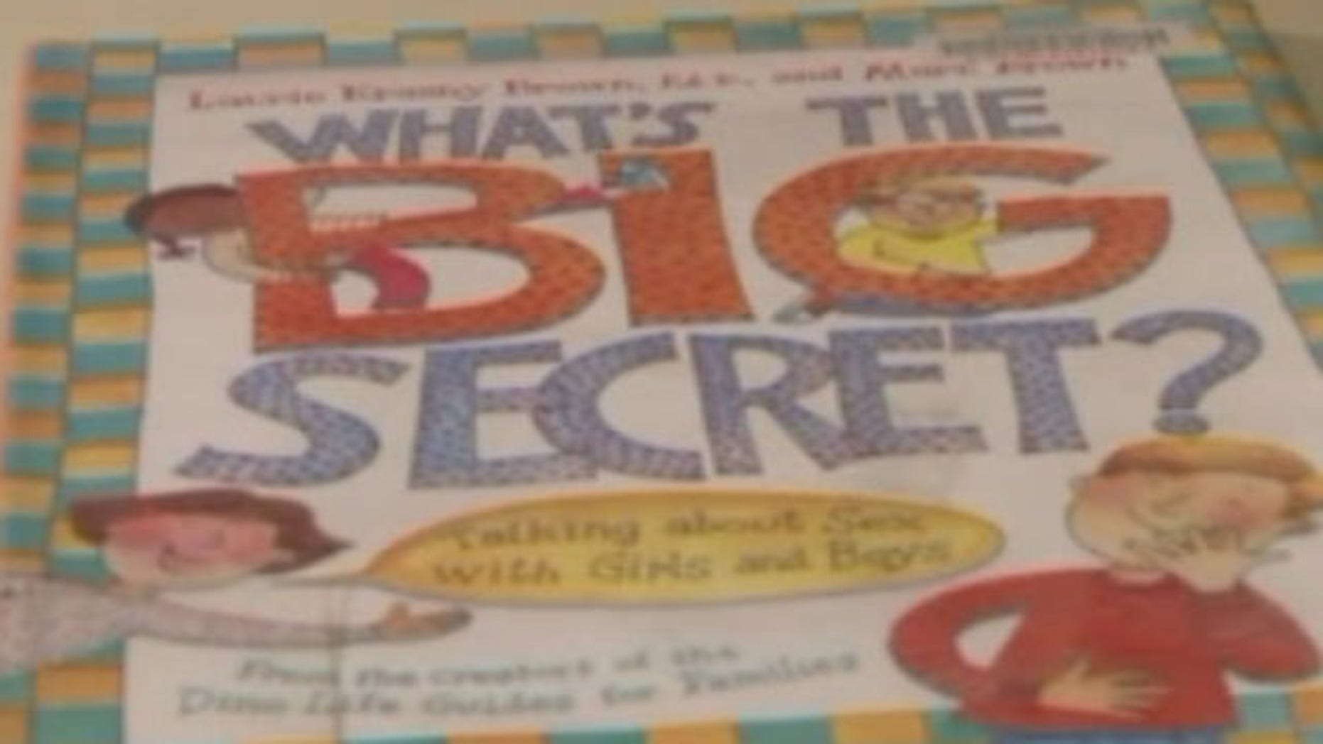 "Controversial sex-ed book ""What's the Big Secret?"""