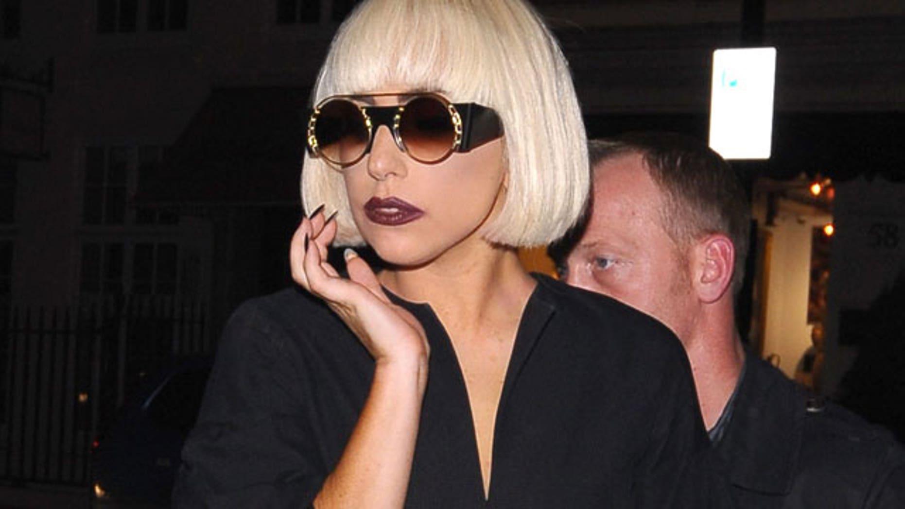 Feb. 2011: Lady Gaga