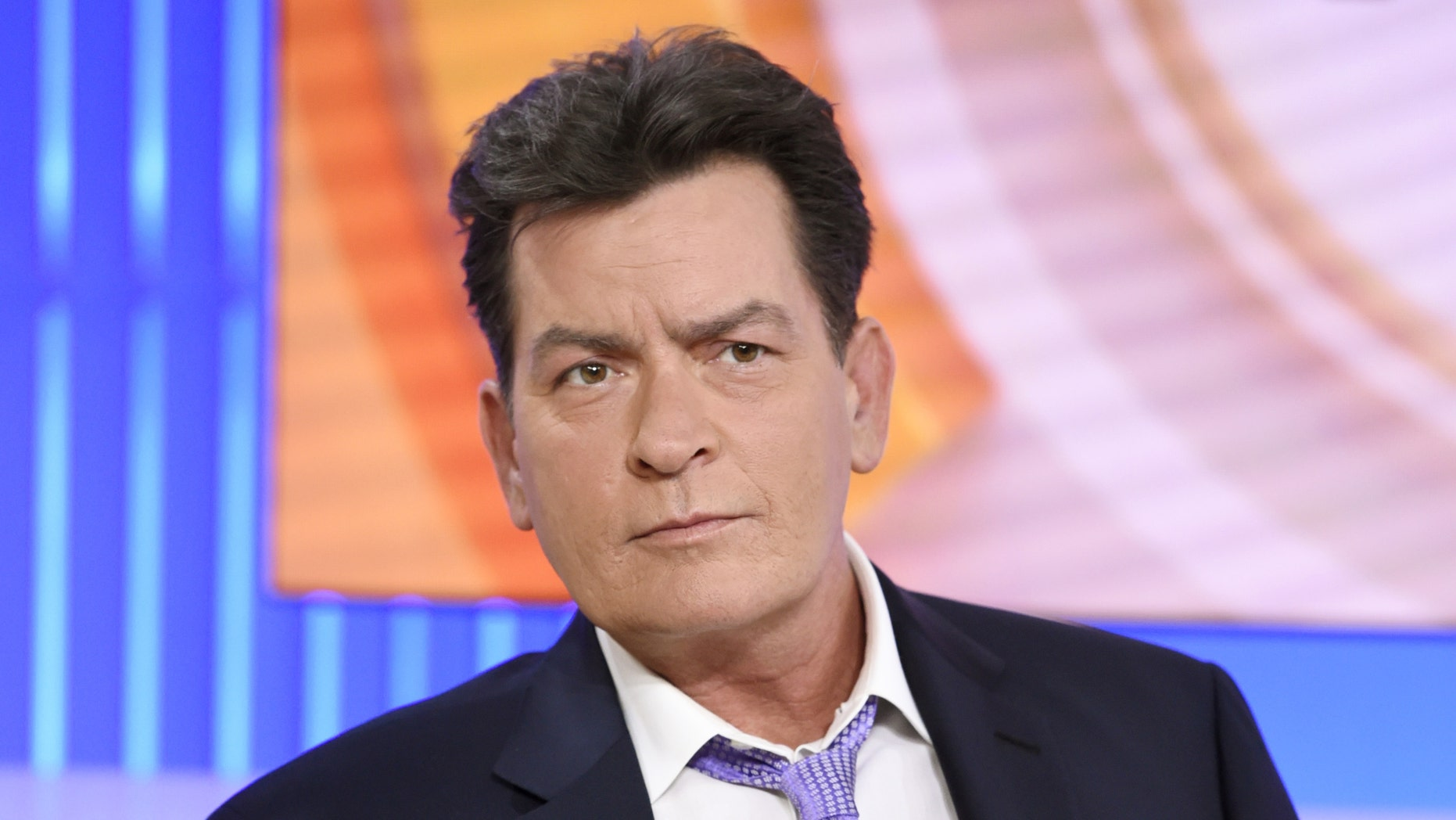 """Charlie Sheen during """"Today"""" interview on Nov. 17, 2015, when he revealed he is HIV positive."""