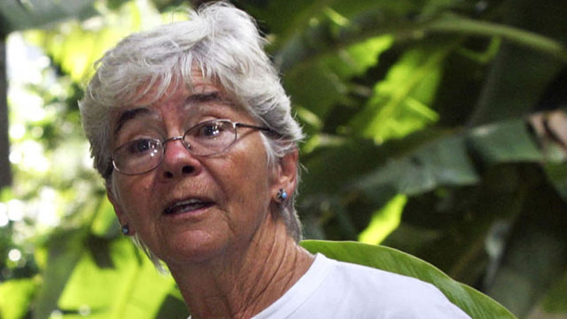 missionary sister Dorothy Stang, of Ohio, is seen before entering the Para's legislature in Belem, northern Brazil. A rancher accused of ordering the murder of Stang, a U.S. nun and Amazon defender,was found guilty and sentenced to 30 years in prison Monday April 12, 2010 in Belem, Brazil.