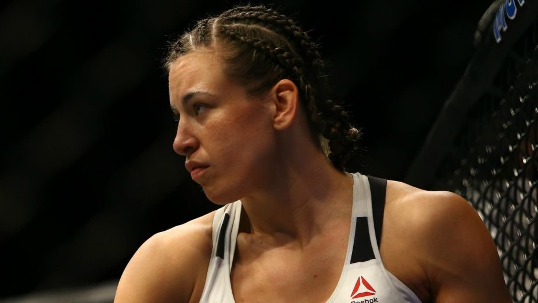 Amanda Tate miesha tate reminds the world she's fighting amanda nunes