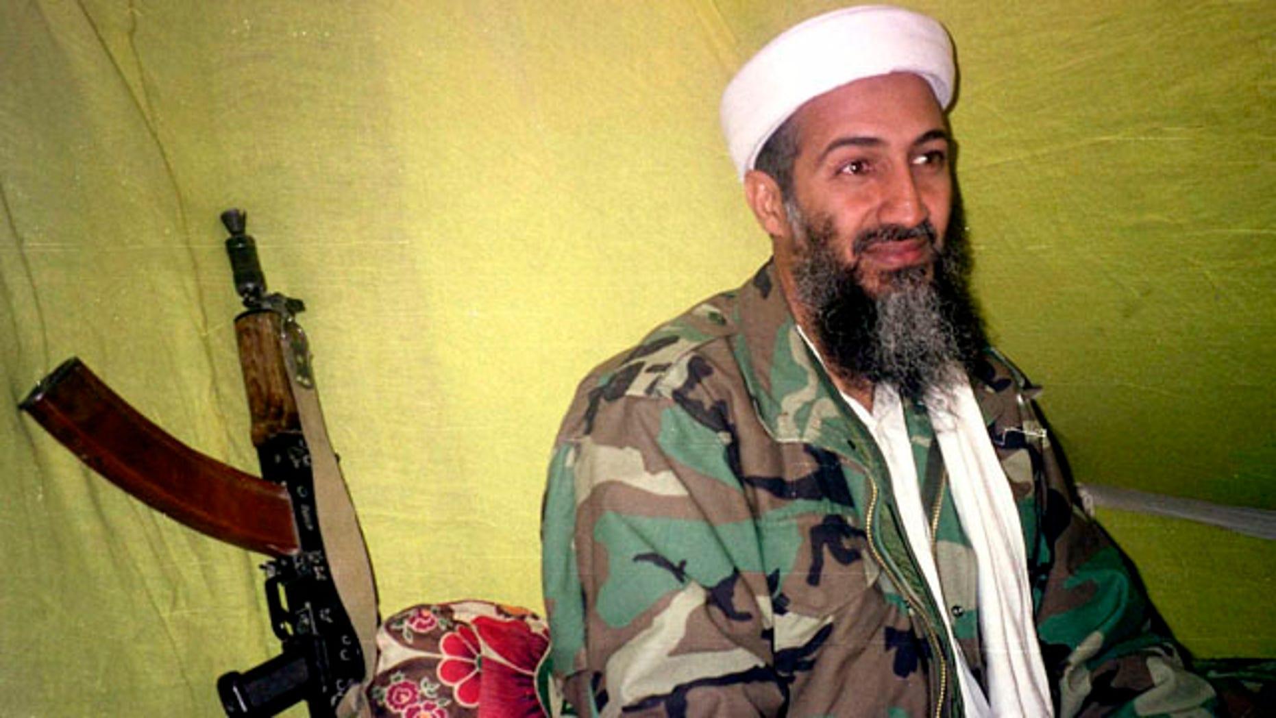 Usama bin Laden is seen in a 1998 file photo.