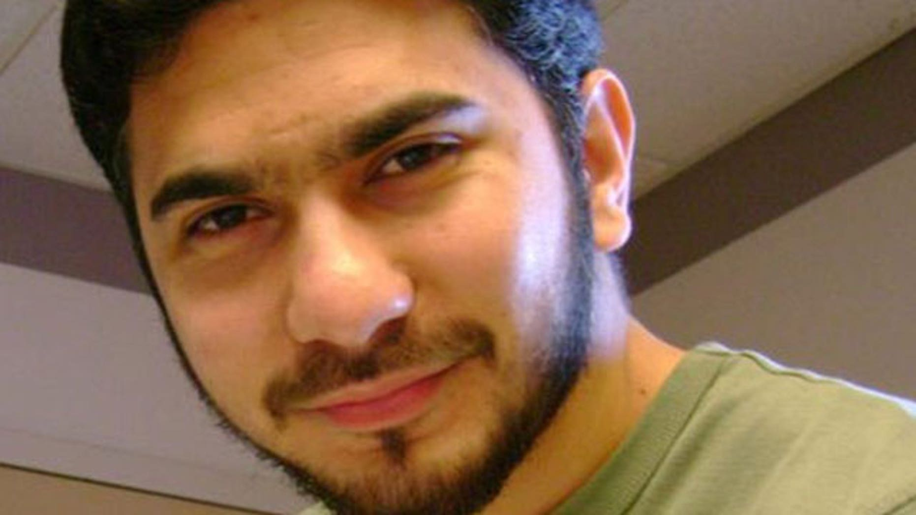In this undated file photo from the social networking site Orkut.com, a man who was identified by neighbors in Connecticut as Faisal Shahzad, is shown.