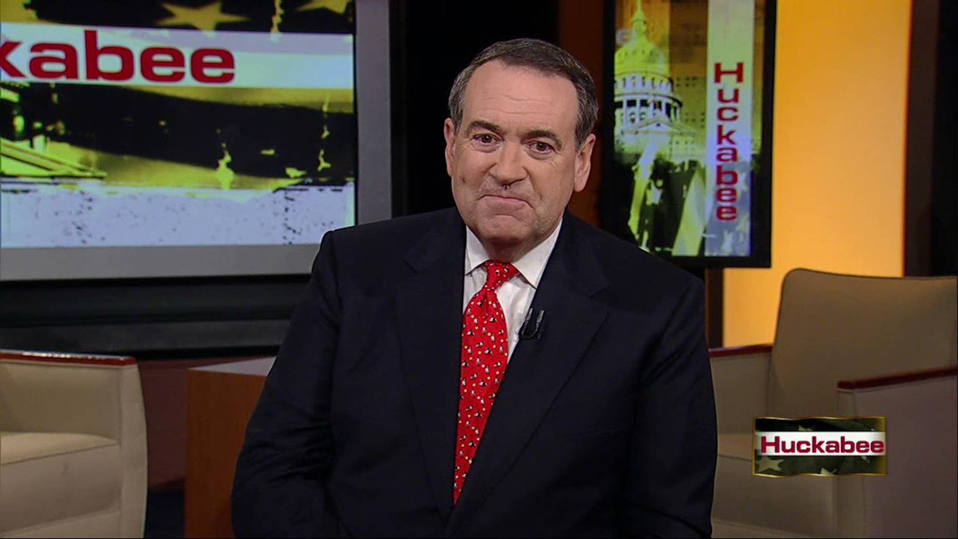 Saturday: On his Fox News Channel program 'Huckabee,' former Arkansas Gov. Mike Huckabee announced that he will not seek a bid in the 2012 presidential race.