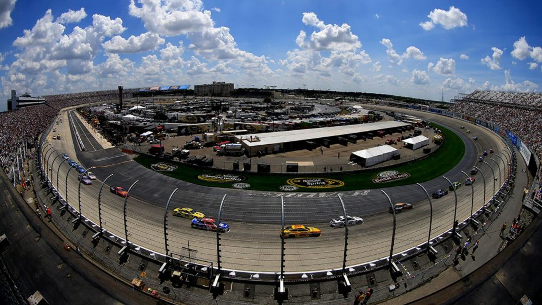 DOVER, DE - MAY 31: A general view of the NASCAR Sprint Cup Series FedEx 400 Benefiting Autism Speaks at Dover International Speedway on May 31, 2015 in Dover, Delaware. (Photo by Chris Trotman/NASCAR via Getty Images)