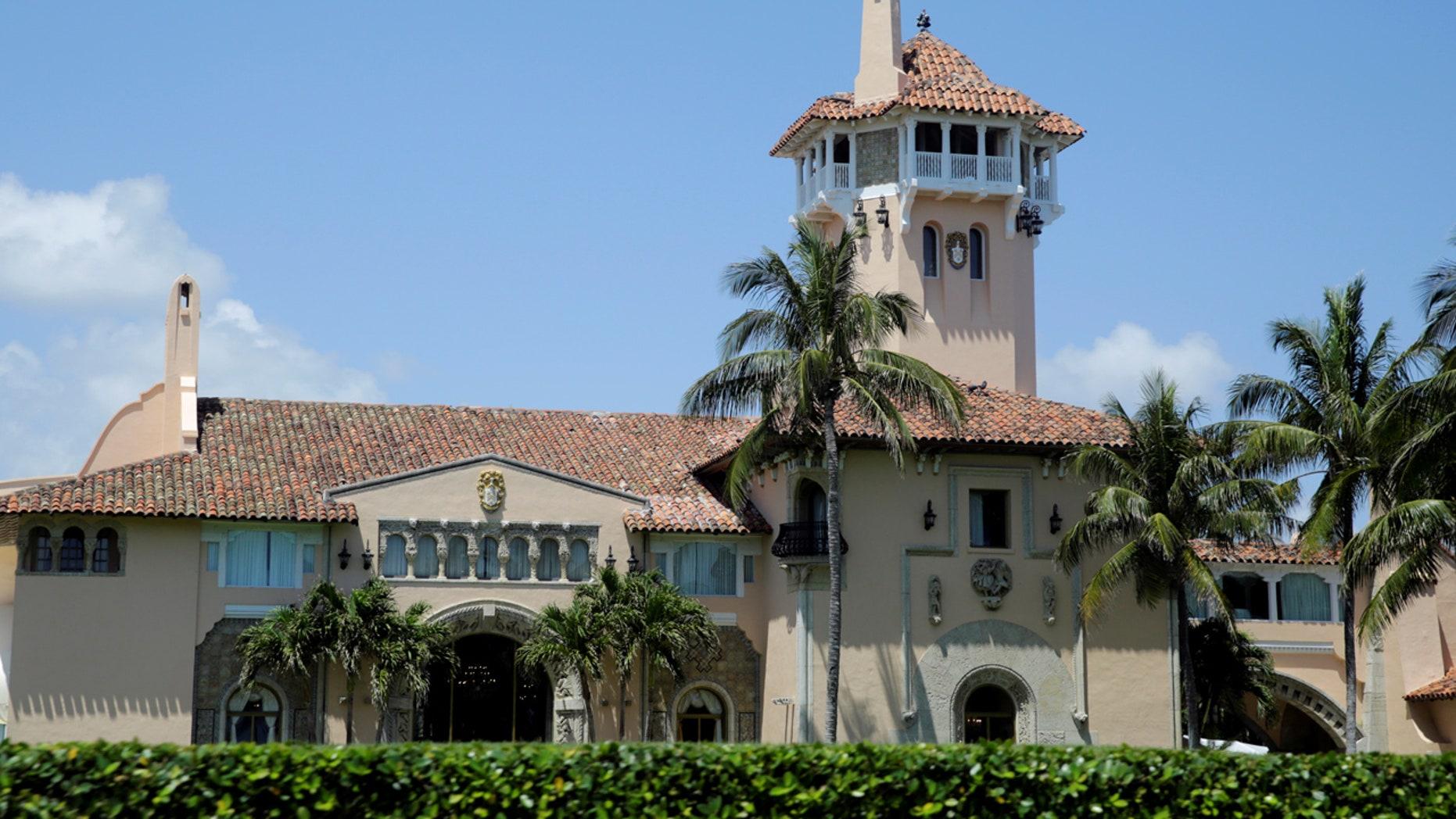 U.S. President Donald Trump's Mar-a-Lago estate is seen in Palm Beach