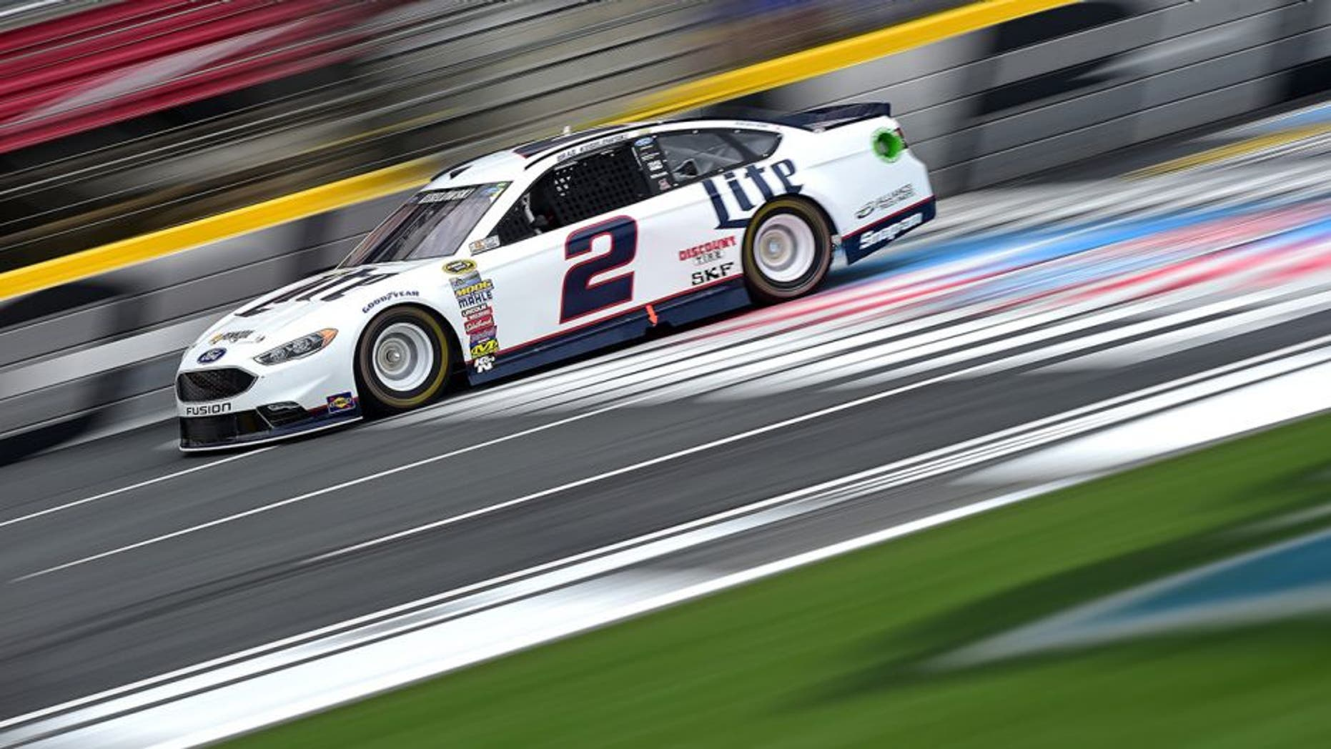CHARLOTTE, NC - MAY 21: Brad Keselowski, driver of the #2 Miller Lite Ford, practices for the NASCAR Sprint Cup Series Sprint All-Star Race at Charlotte Motor Speedway on May 21, 2016 in Charlotte, North Carolina. (Photo by Jared C. Tilton/Getty Images)