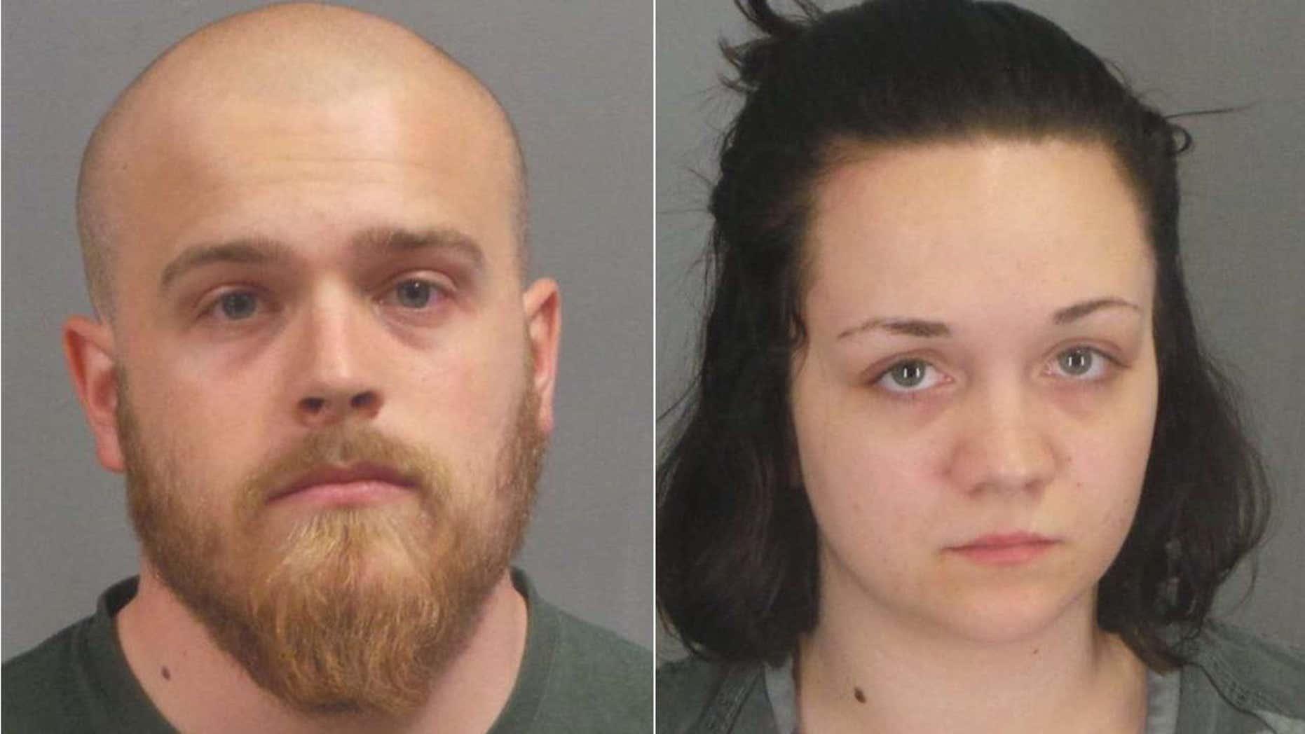 Richard Gamache Jr., 24, and Cheyenne Cook, 19.