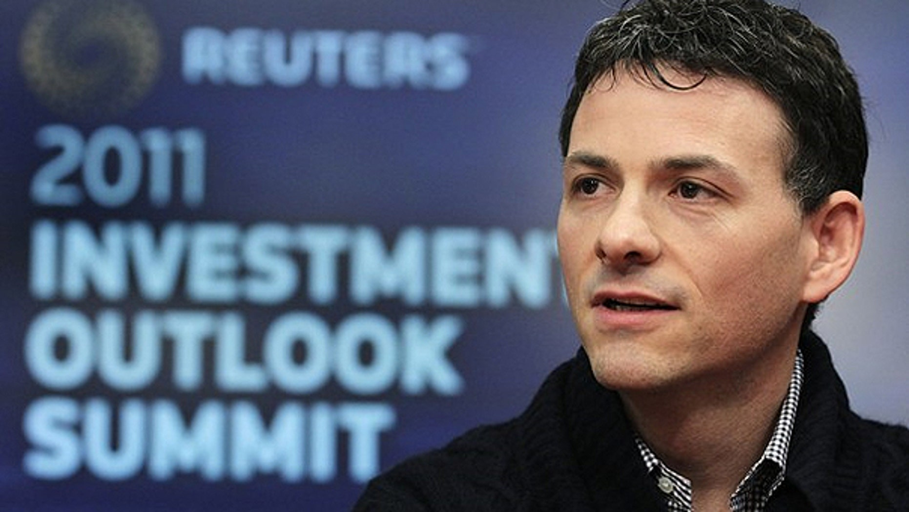 Dec. 7, 2010: David Einhorn, President of Greenlight Capital, speaks at the Reuters Investment Outlook Summit in New York.