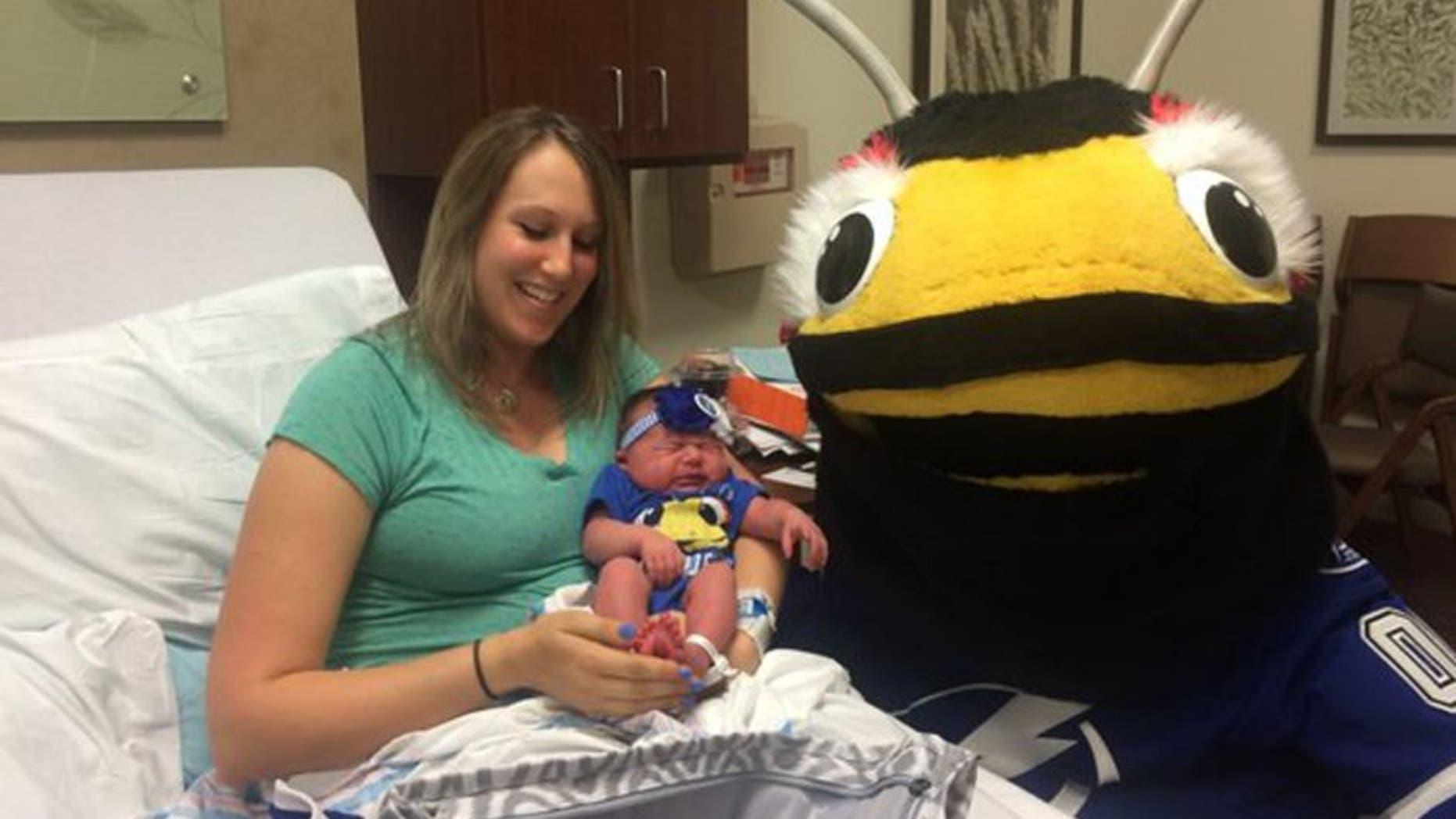 A Tampa Bay couple named their daughter after Lightning forward Nikita Kucherov.