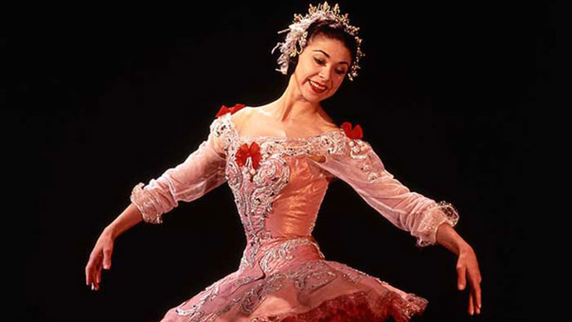 Margot Fonteyn, the former prima ballerina in Britain's Royal Ballet, was involved in a plot to overthrow the government of Panama.